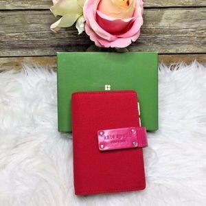 Kate Spade New York Anne Red Pink Pocket Planner